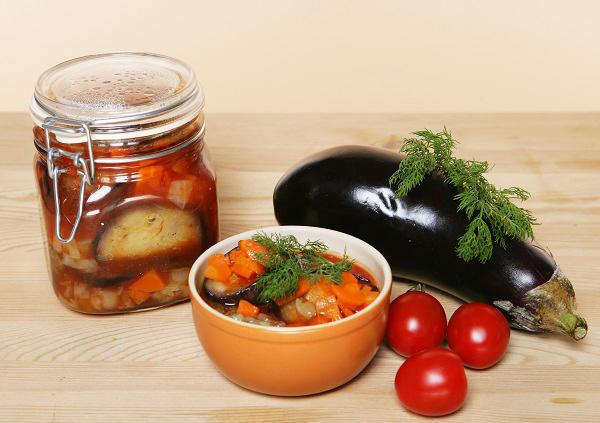 Мастер-класс - Баклажаны в томатном соусе