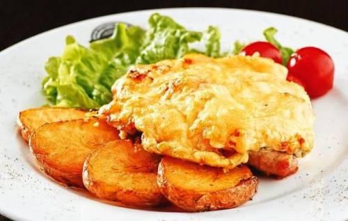 Отбивные из свинины с помидорами и сыром – сочно! Как правильно готовить отбивные из свинины с помидором и сыром 1
