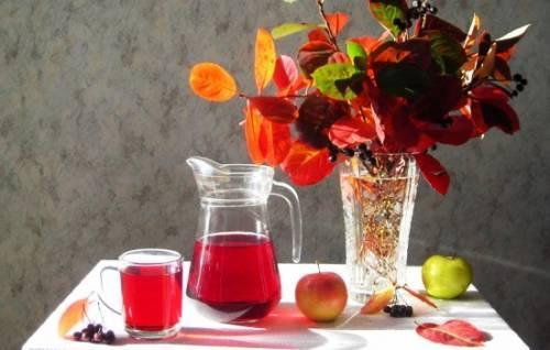 Компот из черноплодки с яблоками на зиму – минимум хлопот, максимум вкуса. Варим «Алтайский» компот: яблоки с черноплодной рябиной 1
