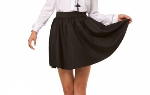 Юбка-солнце своими руками: как сшить юбку простого фасона на резинке. Необычная лепестковая форма юбки-солнце - схема 1