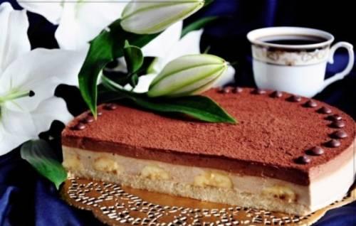Шоколадно-банановый торт – звучит сложнее, чем готовится. Рецептуры теста и кремов для шоколадно-банановых тортов 8
