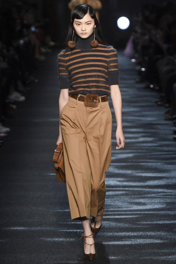 модые брюки 2017 , кюлоты