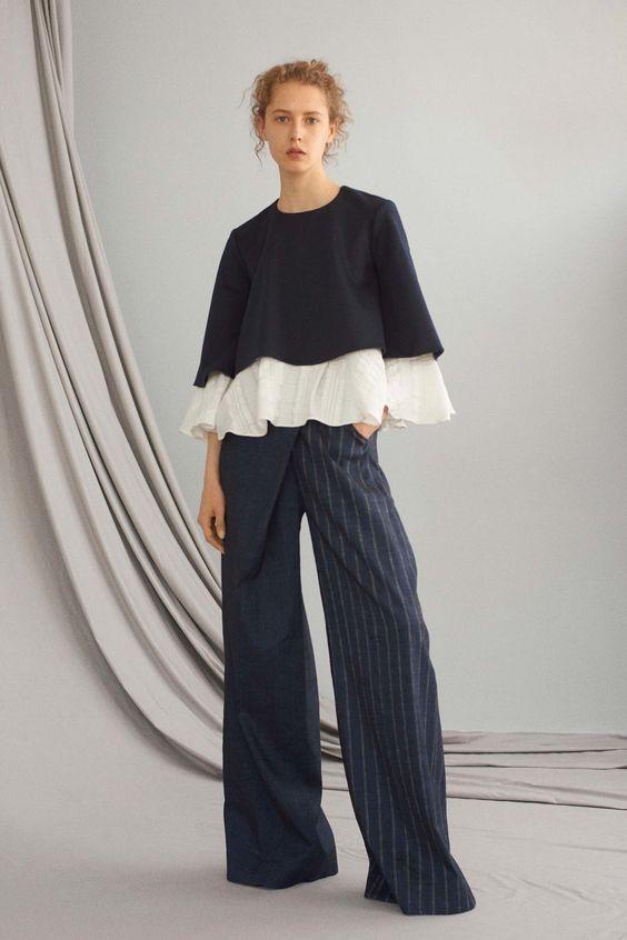 модные брюки в стиле оверсайз 2017