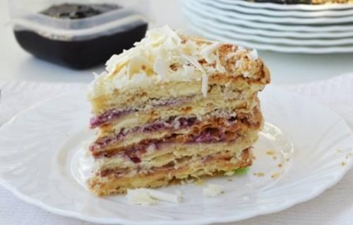 Домашний слоёный торт «Стёпка-растрёпка» – вкус из детства! Рецепты слоёного теста и кремов для торта «Стёпка-растрёпка» 8