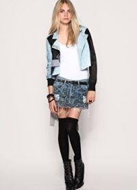 Джинсовая юбка 2013 3