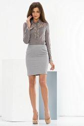 Прямая юбка 12