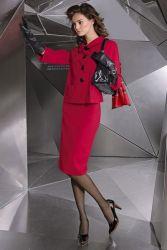 Женский деловой костюм 12