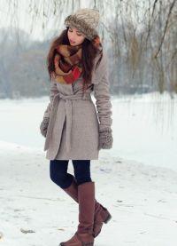зимние образы девушек 3
