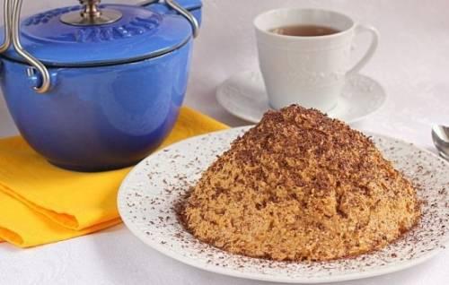 Рецепты торта «Муравейник» со сгущёнкой из песочного теста и печенья 2