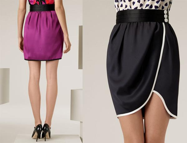 Как сшить юбку с запахом?