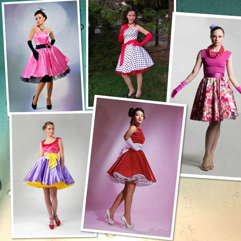 Платье в стиле стиляг: с чем носить? 67