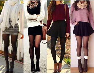 Трикотажная юбка: фасоны, с чем носить, выбор 9