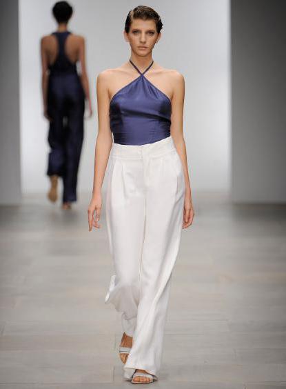 брюки женские с завышенной талией