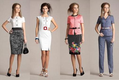 Офисный стиль одежды для девушек и женщин 14