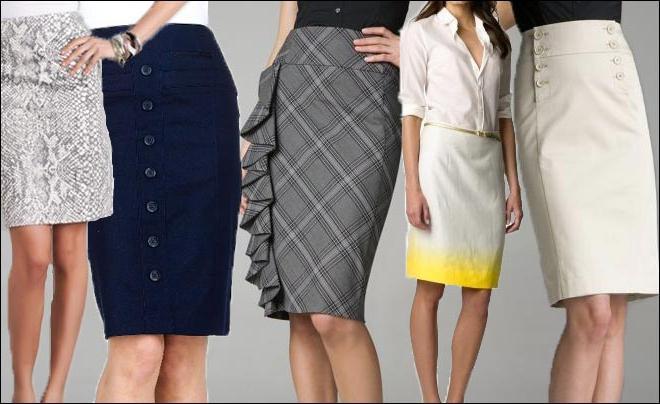 Следуем моде: выбираем свои фасоны юбок 23