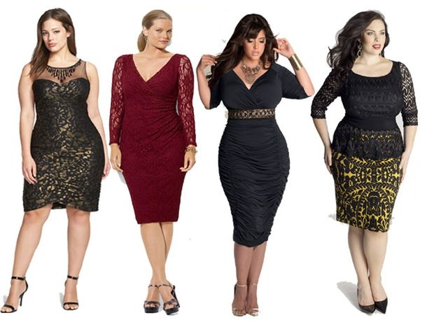 Мода для полных женщин 2017 12