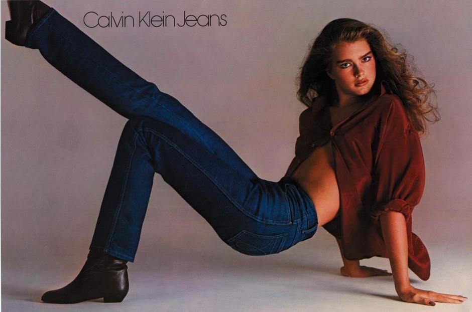 Вы хотите знать, что находится между мной и моими джинсами? Ничего! - Брук Шилдс (15 лет)