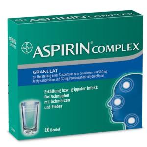при головной боли, от температуры и воспаления также купите Aspirin Complex
