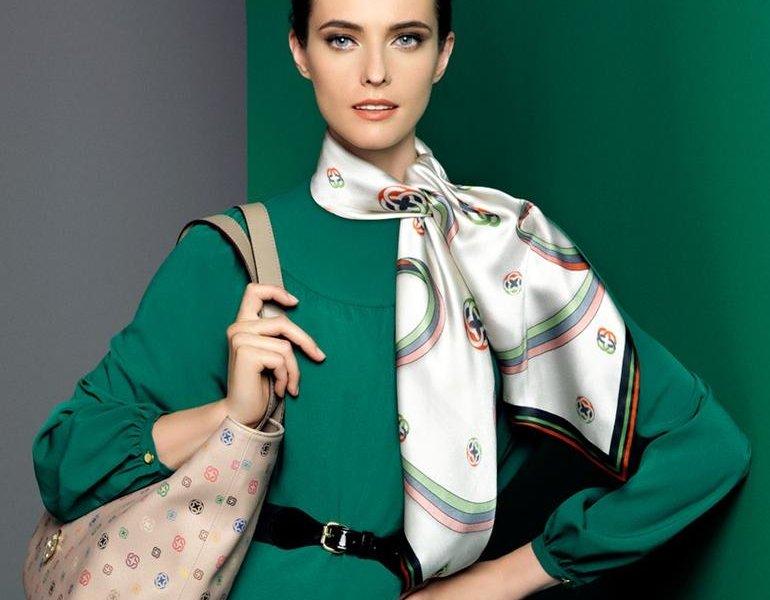 Женский шейный платок 1