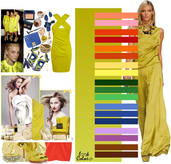 Модные цвета 2011. Желто зеленый цвет
