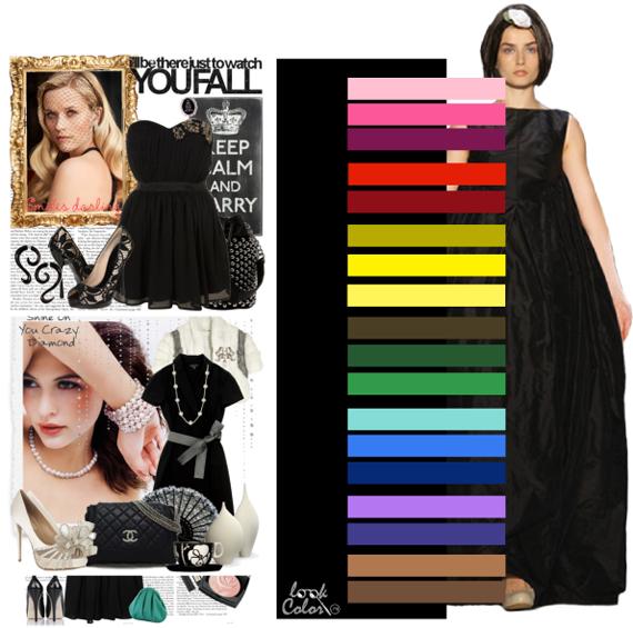 Модные цвета 2011. Черный цвет