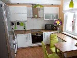 интерьер маленькой кухни - 1