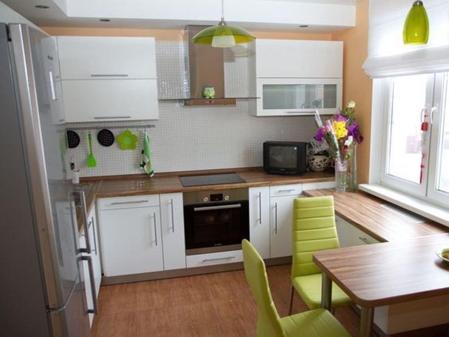 Как создать интерьер маленькой кухни? 6
