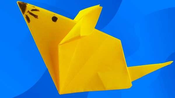 Простые поделки из бумаги своими руками для детей 3-4 лет 4